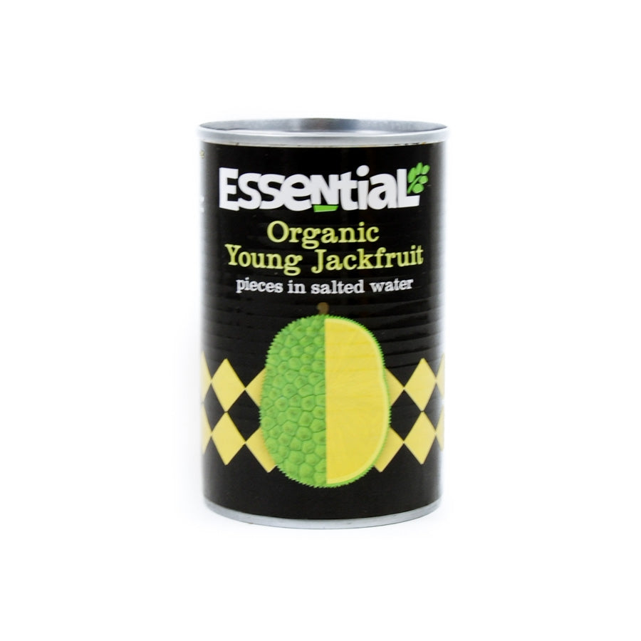Essential Trading Organic Jackfruit in Water 400g Ingredients Pickled & Preserved Vegetables
