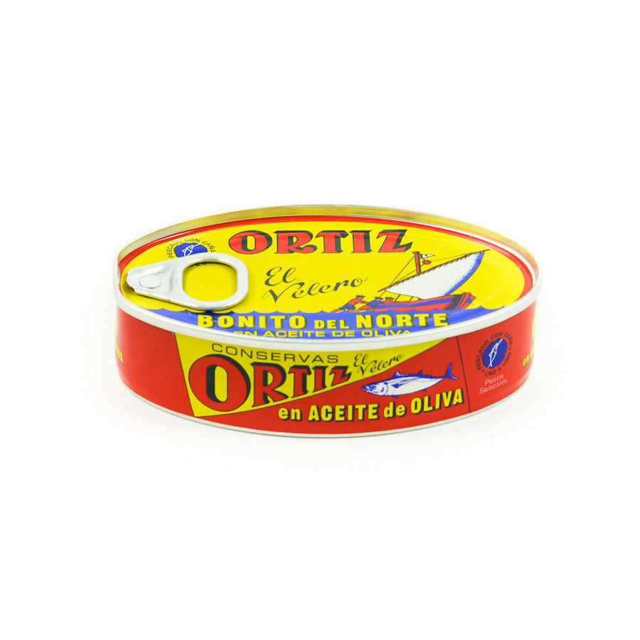 Ortiz Bonito Tuna 115g Ingredients Seaweed Squid Ink Fish Spanish Food