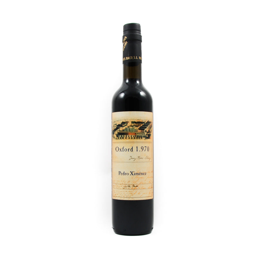 Dios Baco Pedro Ximenez Sherry 500ml Ingredients Drinks Alcohol Spanish Food