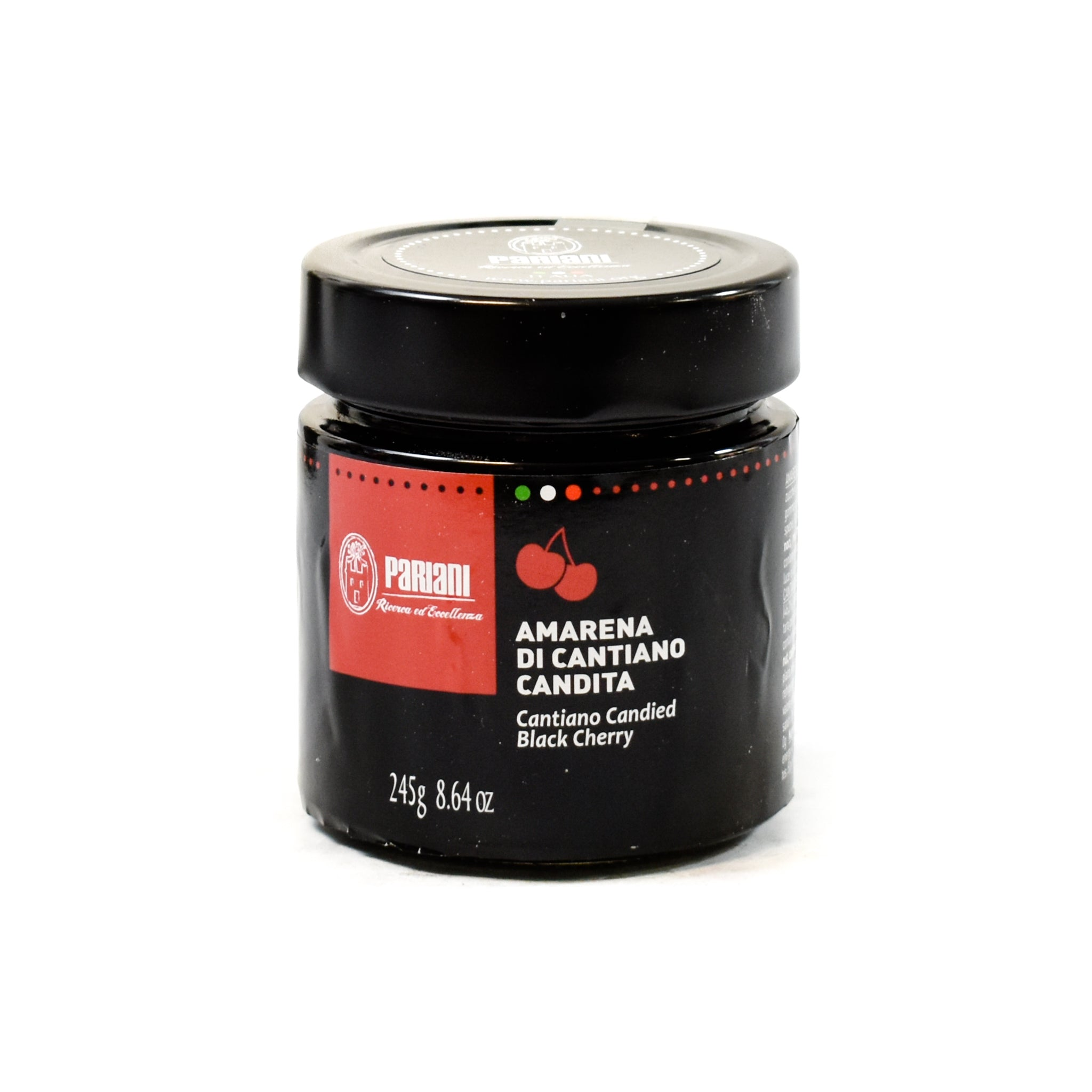 Pariani Candied Black Cherry 245g Ingredients Baking Ingredients Dried & Preserved Fruit Italian Food