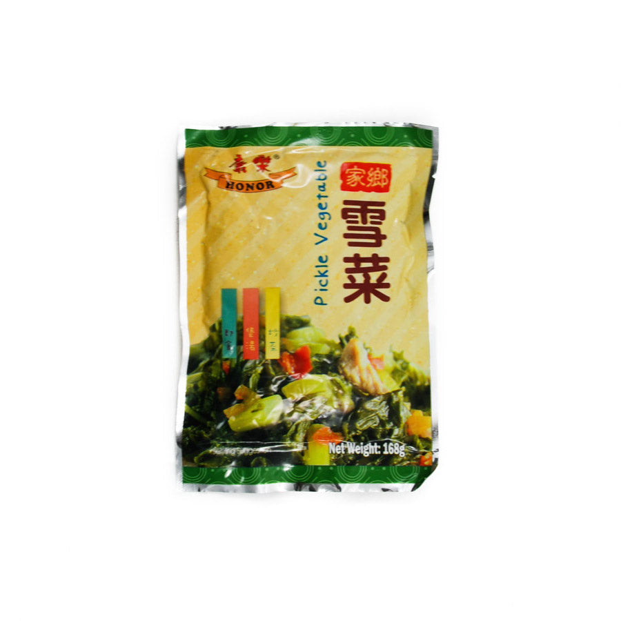 Honor Pickled Vegetables Preserved Mustard Greens 168g Ingredients Pickled & Preserved Vegetables Chinese Food