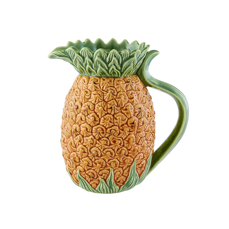 Bordallo Pinheiro Pineapple Pitcher Tableware Tea & Coffee Servingware