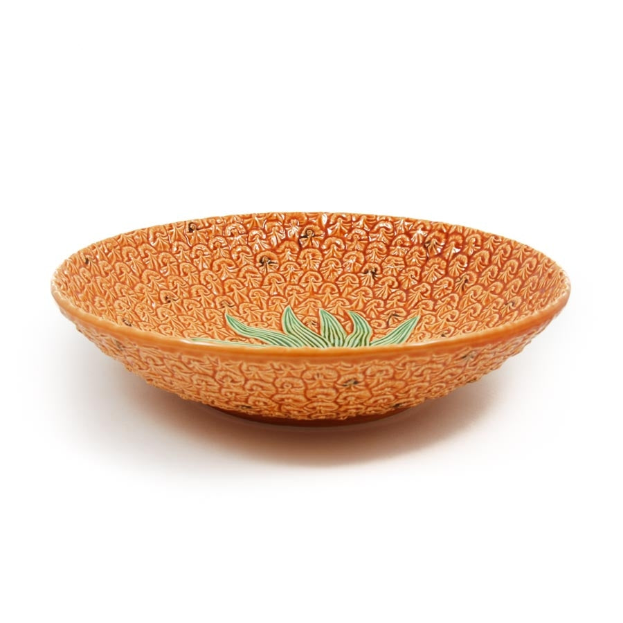 Bordallo Pinheiro Pineapple Salad Bowl 35.5cm Tableware