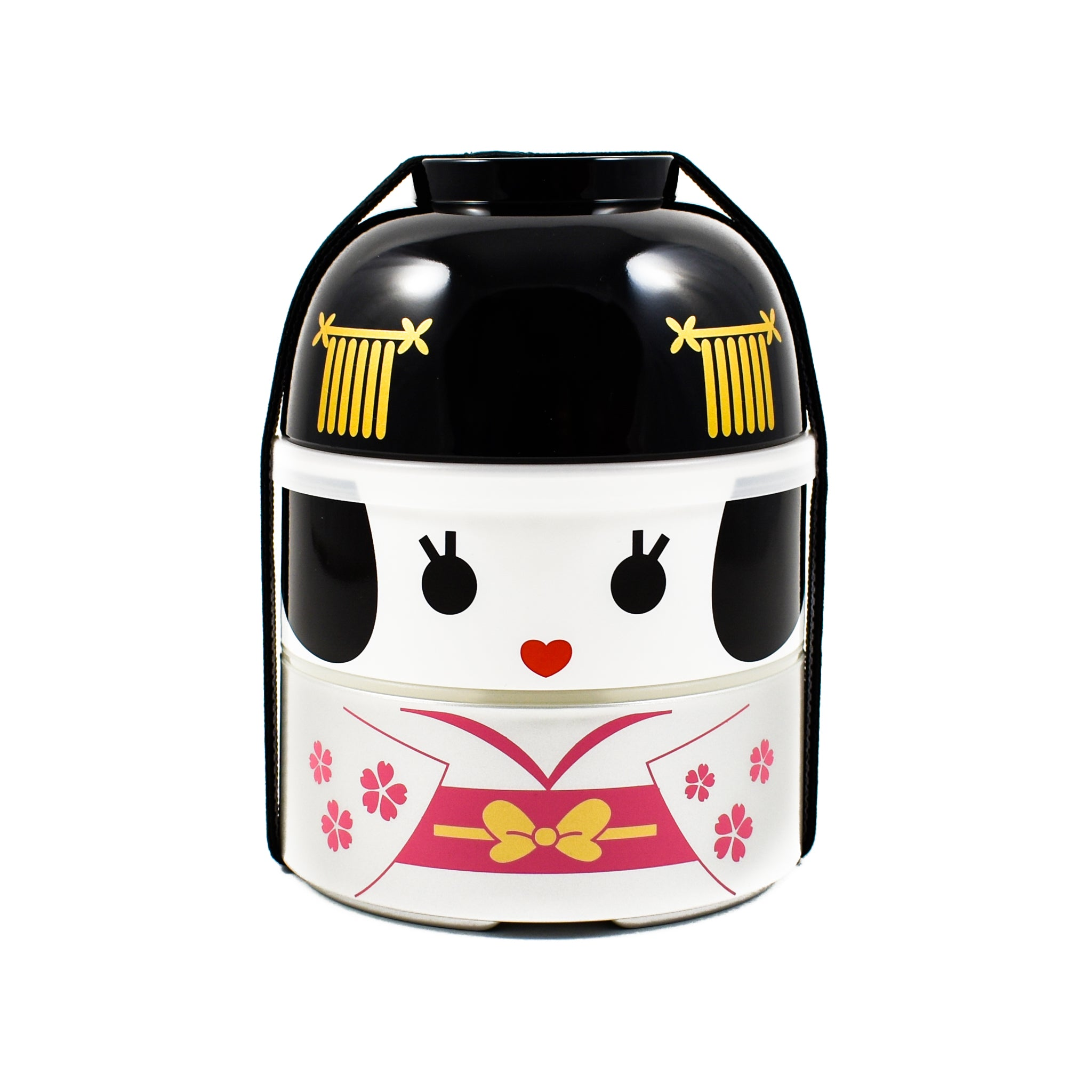 Hakoya Pink Geisha Bento Box - Large Cookware Japanese Food