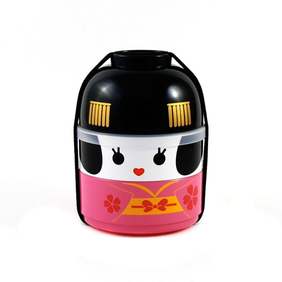 Hakoya Pink Geisha Bento Box 640ml Cookware Japanese Food