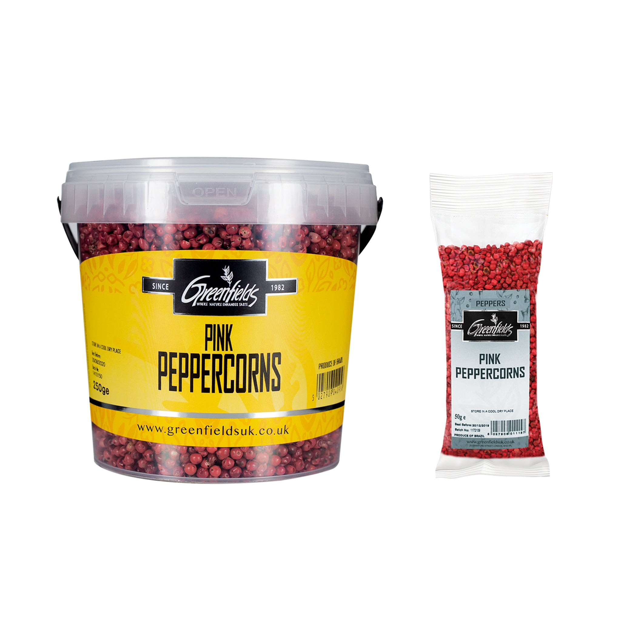 Greenfields Pink Peppercorns