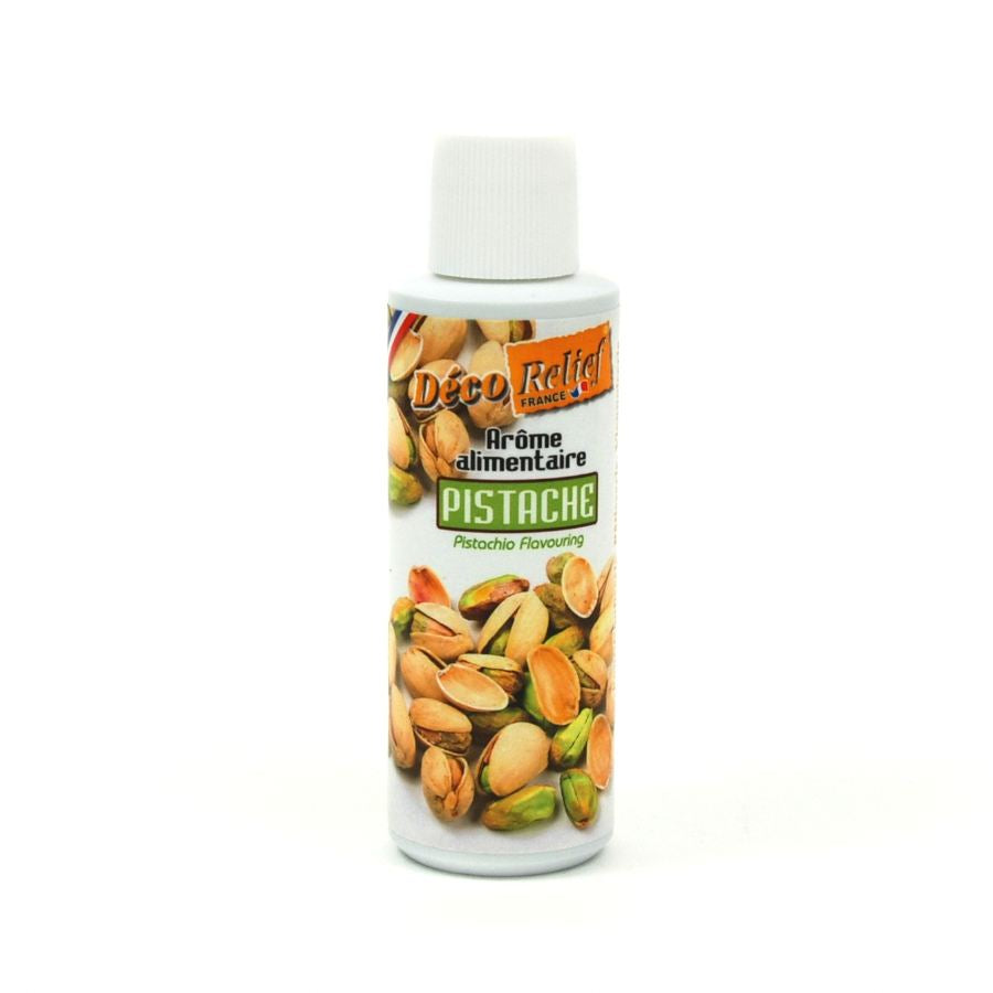 Deco Relief Concentrated Pistachio Flavour 125ml Ingredients Flavours & Colours French Food