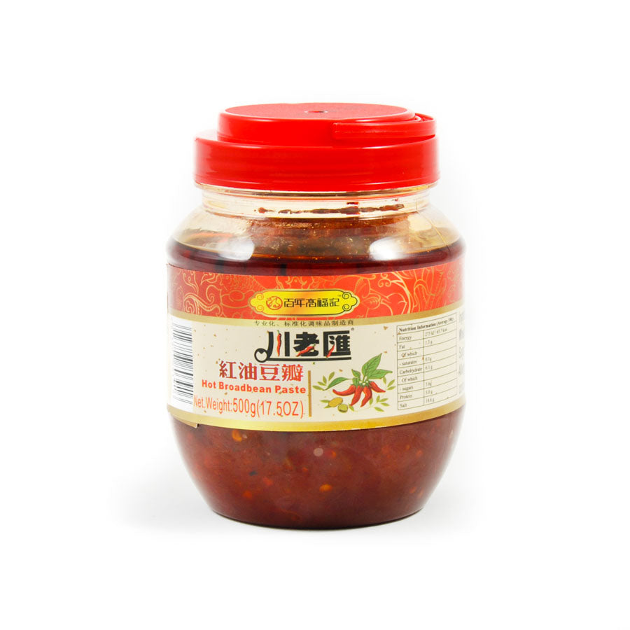 CLH Chinese Hot Chilli Bean Paste 500g Ingredients Sauces & Condiments Asian Sauces & Condiments Chinese Food