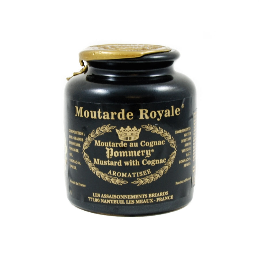 Pommery Royale Mustard With Cognac 500g Ingredients Sauces & Condiments French Food