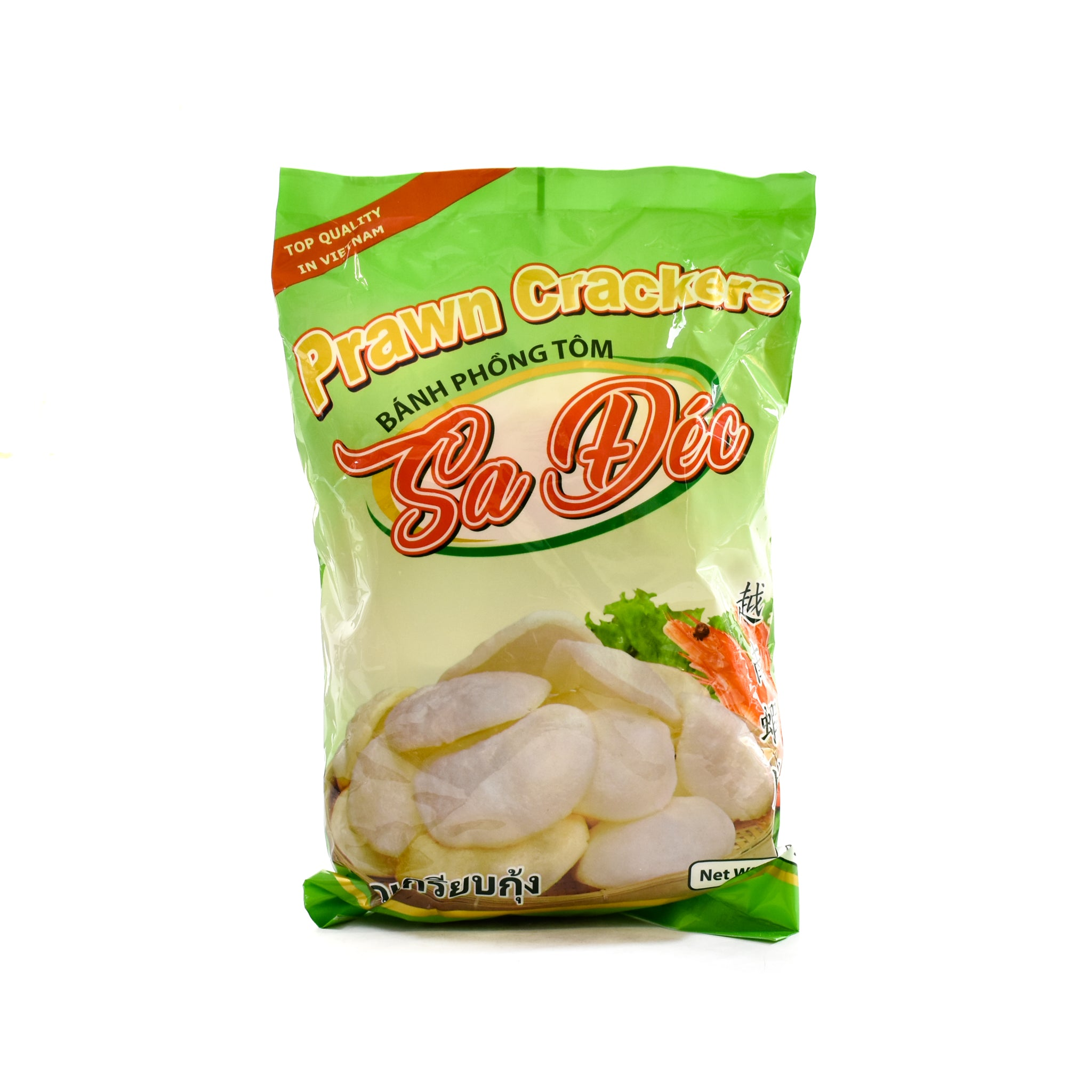 Sadec Prawn Crackers 500g Ingredients Savoury Snacks & Crackers Southeast Asian Food