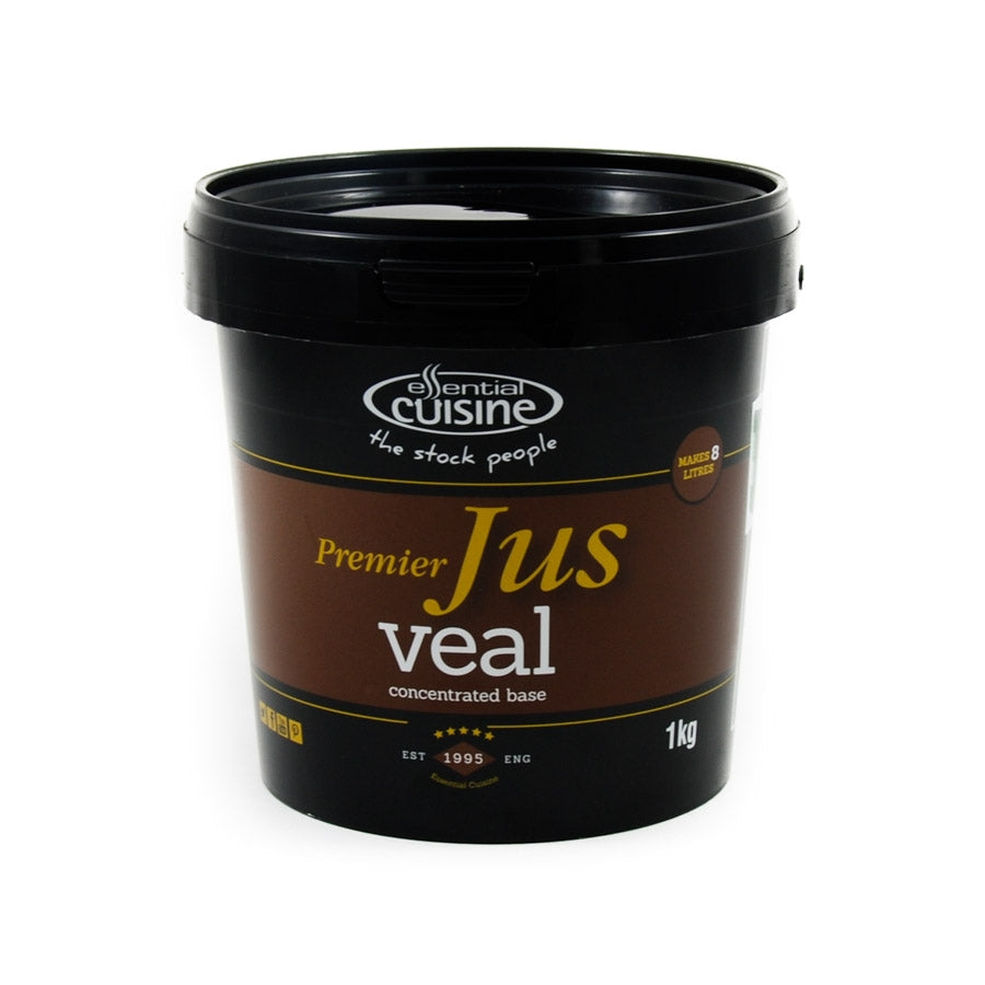 Essential Cuisine Premier Veal Jus 1kg Ingredients Seasonings