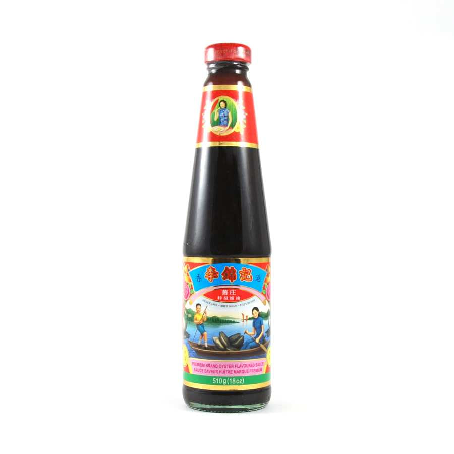 Lee Kum Kee Premium Oyster Sauce 510g Ingredients Sauces & Condiments Asian Sauces & Condiments Chinese Food