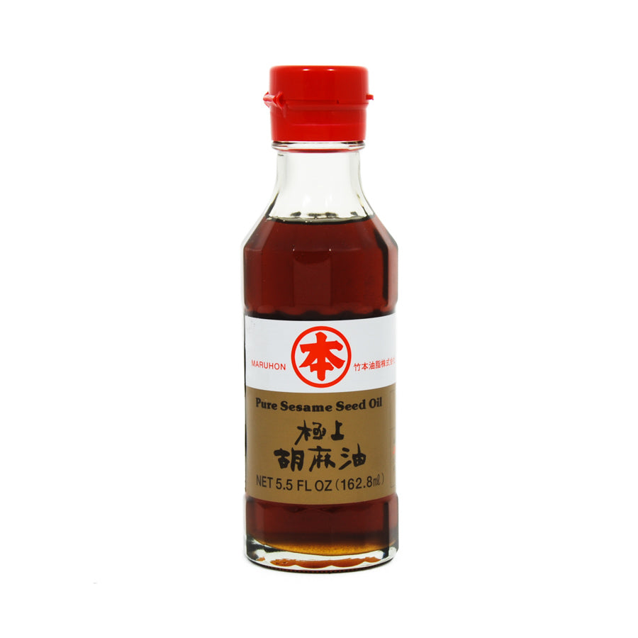 Japanese Maruhon Pure Sesame Oil 162ml Ingredients Oils & Vinegars Japanese Food