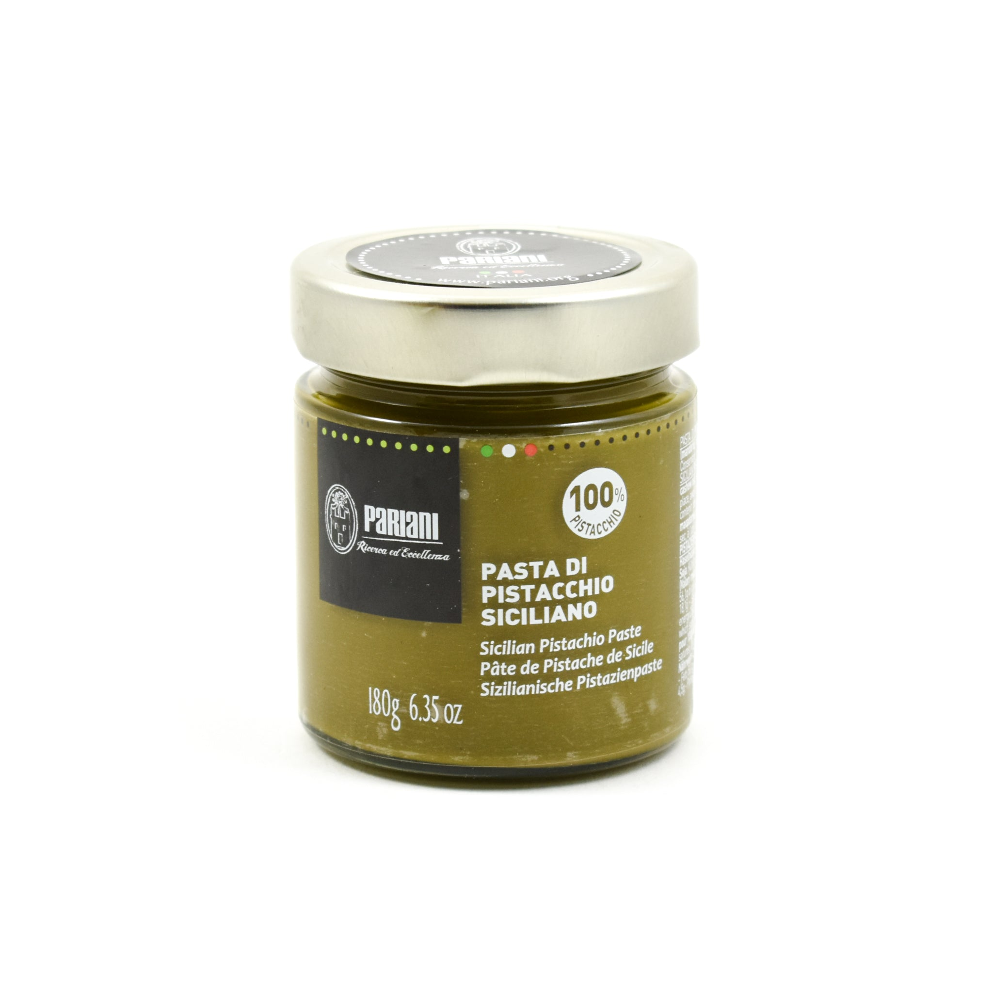 Pariani Pure Sicilian Pistachio Paste 180g Ingredients Baking Ingredients Baking Nuts & Nut Pastes Italian Food