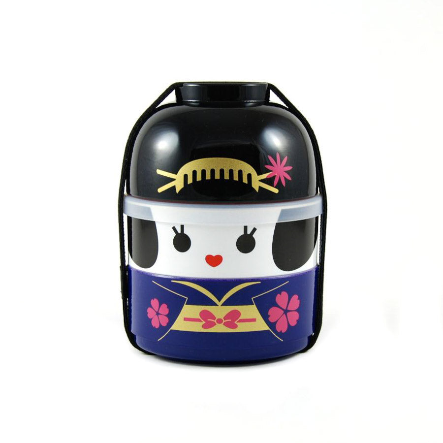 Hakoya Purple Geisha Bento Box 640ml Cookware Japanese Food
