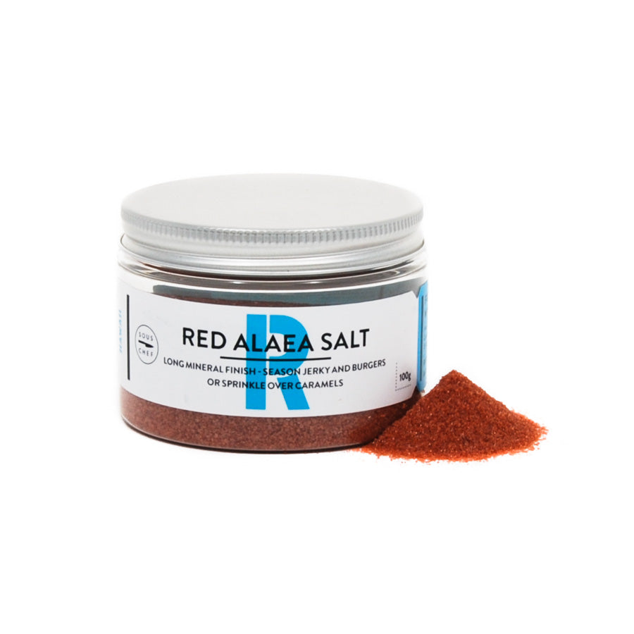 Sous Chef Red Alaea Salt Ingredients Seasonings