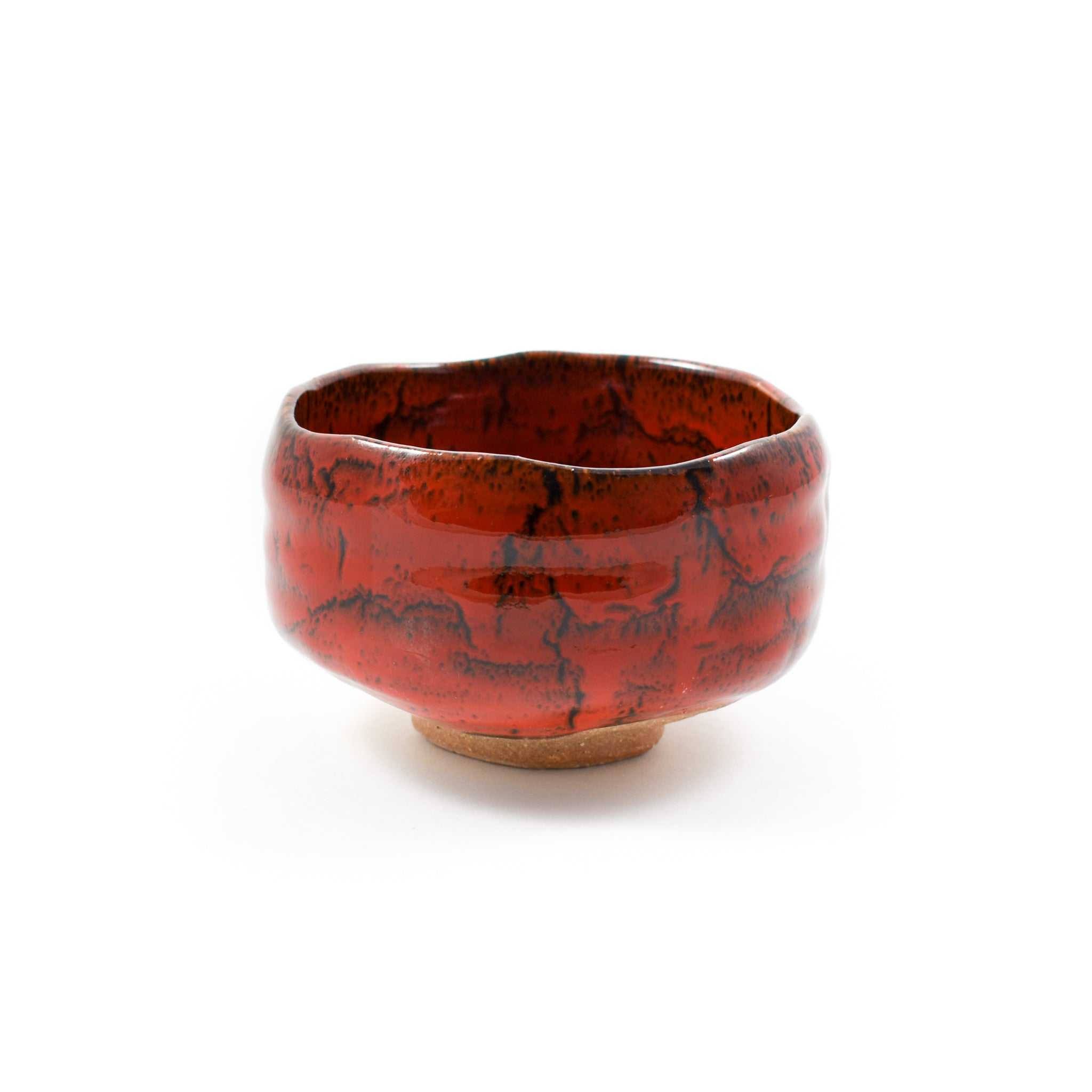 Red Fire Matcha Bowl