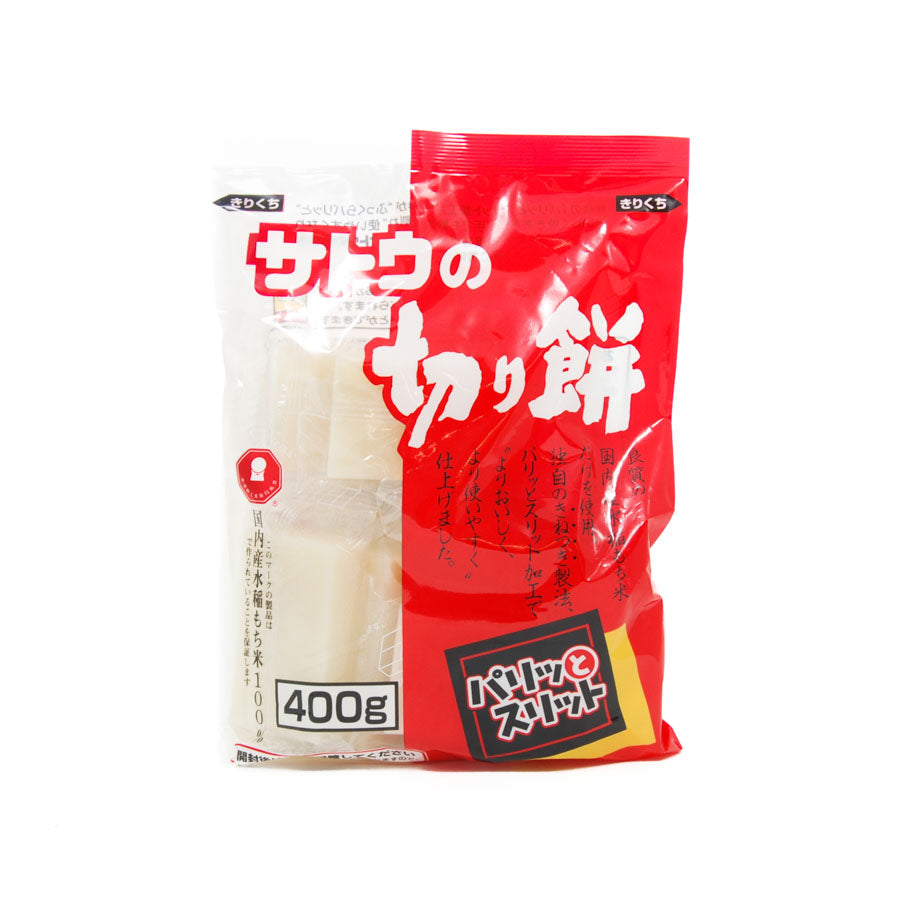 Kiri Mochi Rice Cake 400g Ingredients Pasta Rice & Noodles Rice Japanese Food
