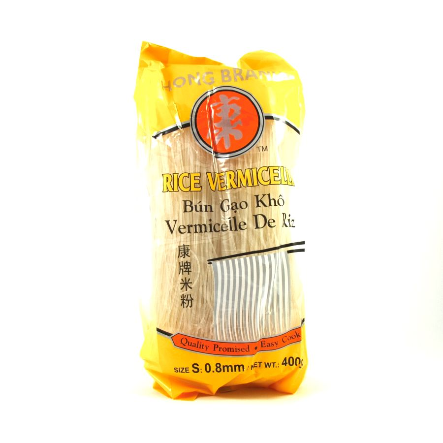 Hong Brand Rice Vermicelli Noodles 400g Ingredients Pasta Rice & Noodles Noodles Southeast Asian Food