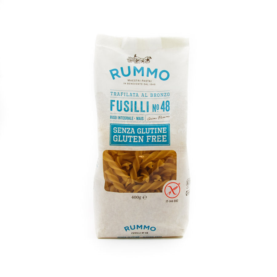 Rummo Gluten Free Fusilli 400g Ingredients Pasta Rice & Noodles Pasta Italian Food
