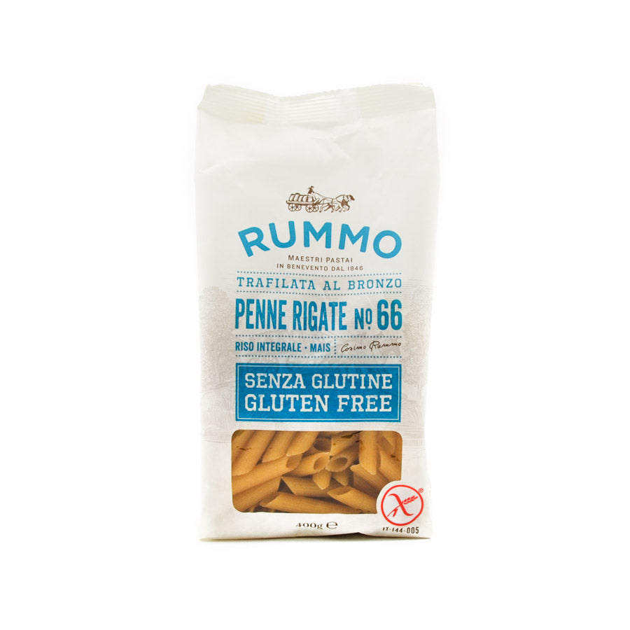 Rummo Gluten Free Penne Rigate 400g Ingredients Pasta Rice & Noodles Pasta Italian Food