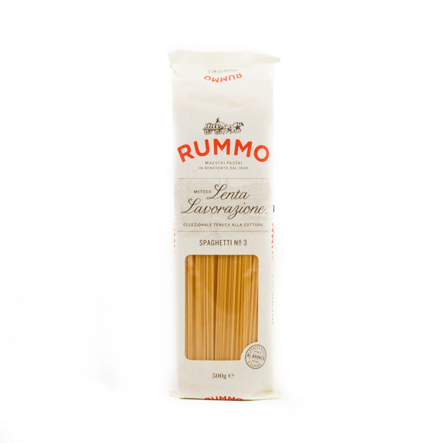 Rummo Spaghetti 500g Ingredients Pasta Rice & Noodles Pasta Italian Food