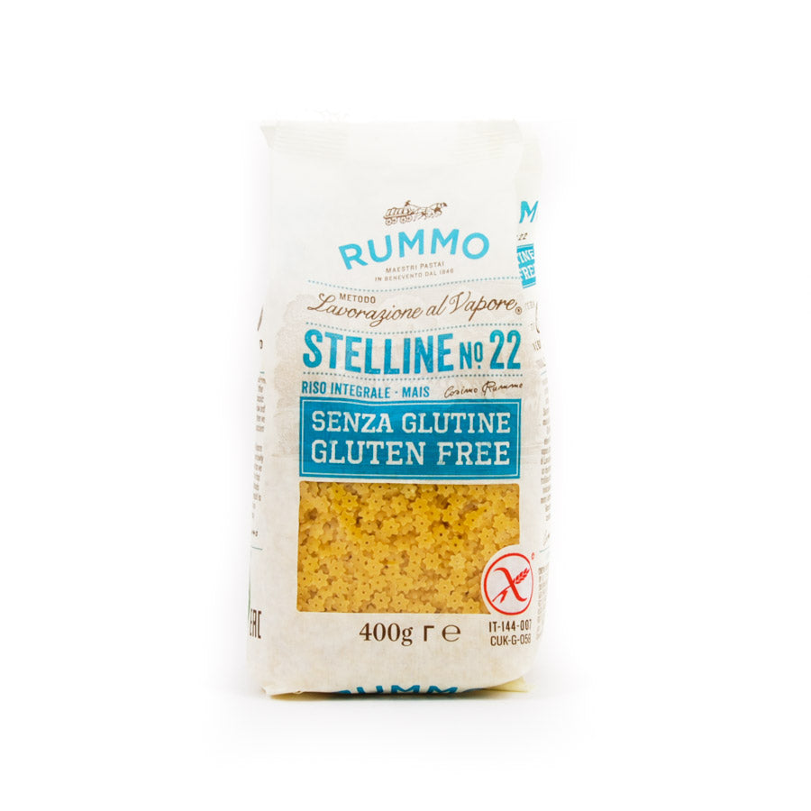 Rummo Gluten Free Stellini 400g Ingredients Pasta Rice & Noodles Pasta Italian Food