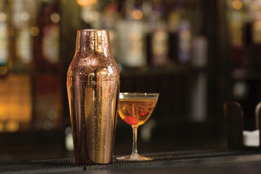 Copper Plated French Cocktail Shaker