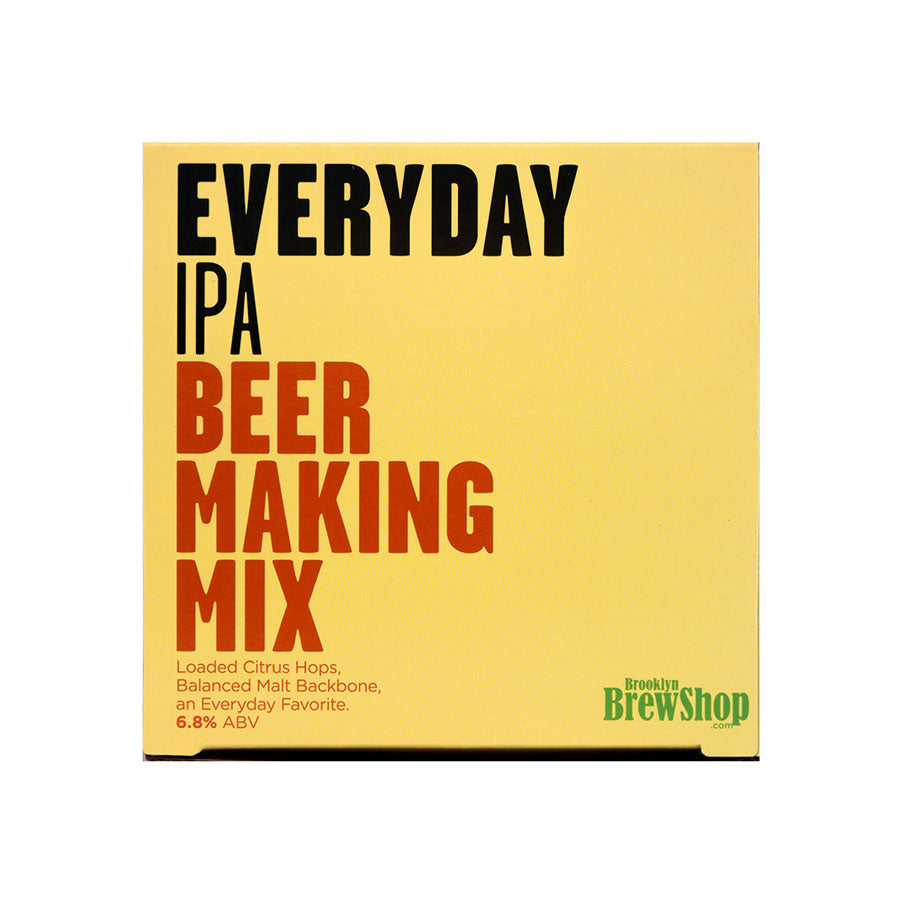 Brooklyn Brew Shop Everyday IPA Mix Ingredients Drinks Home Brewing American Food