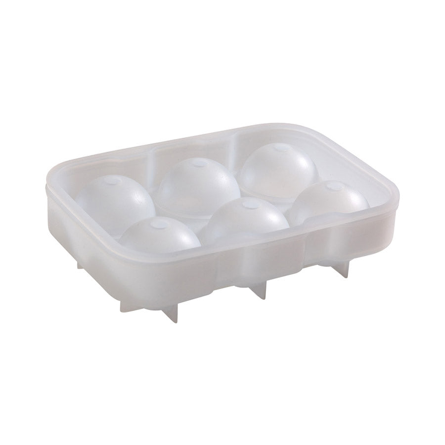 Cocktail'd 6 Cavity Silicone Ice Ball Mould Cookware Barware