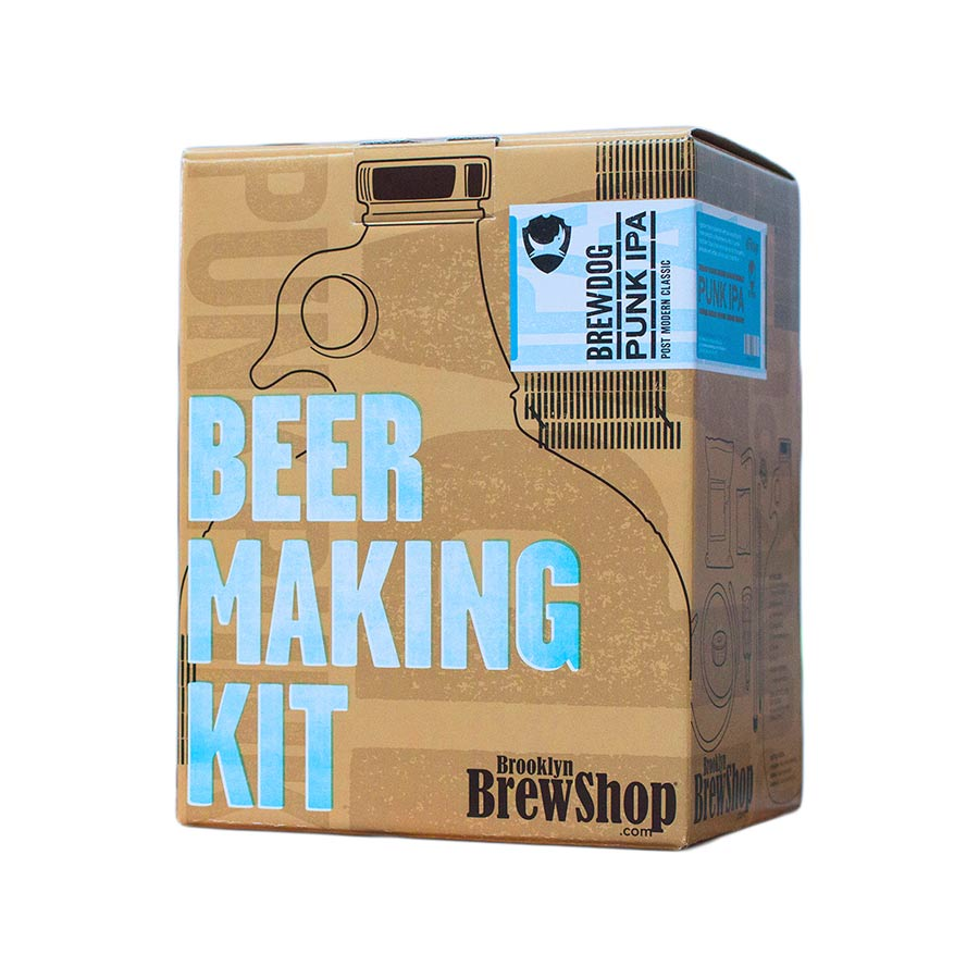 Brooklyn Brew Shop BrewDog Punk IPA Ingredients Drinks Home Brewing American Food