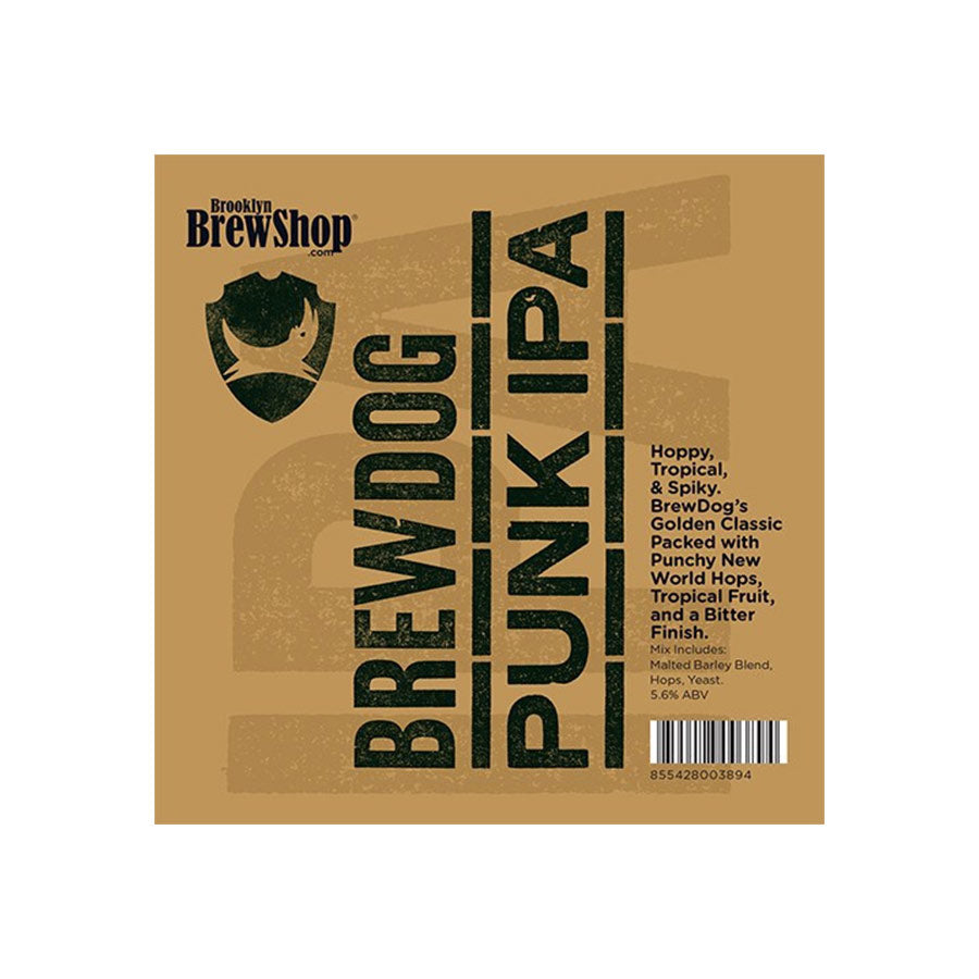 Brooklyn Brew Shop BrewDog Punk IPA Mix Ingredients Drinks Home Brewing American Food