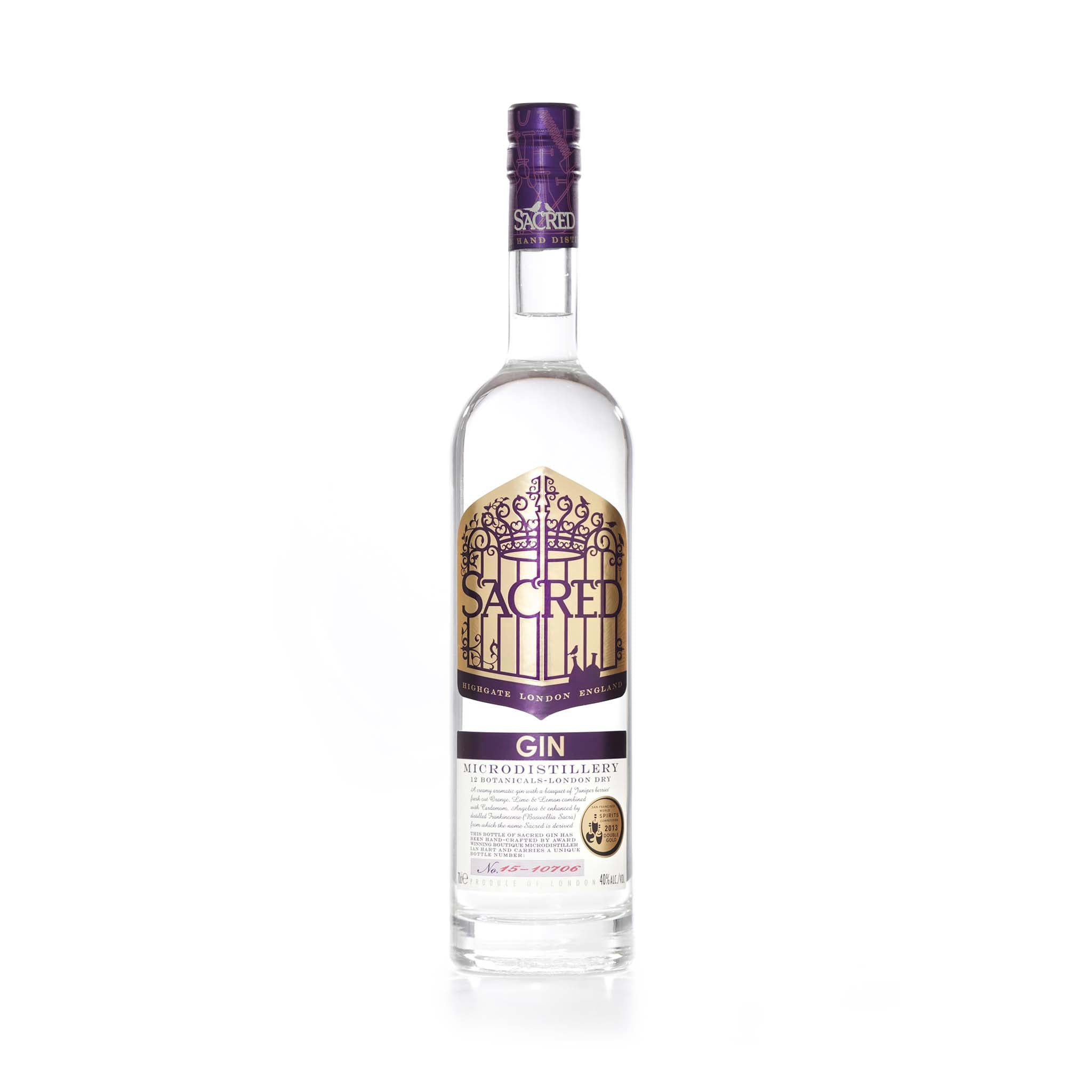 Sacred Spirits Sacred Gin 70cl Ingredients Drinks Alcohol