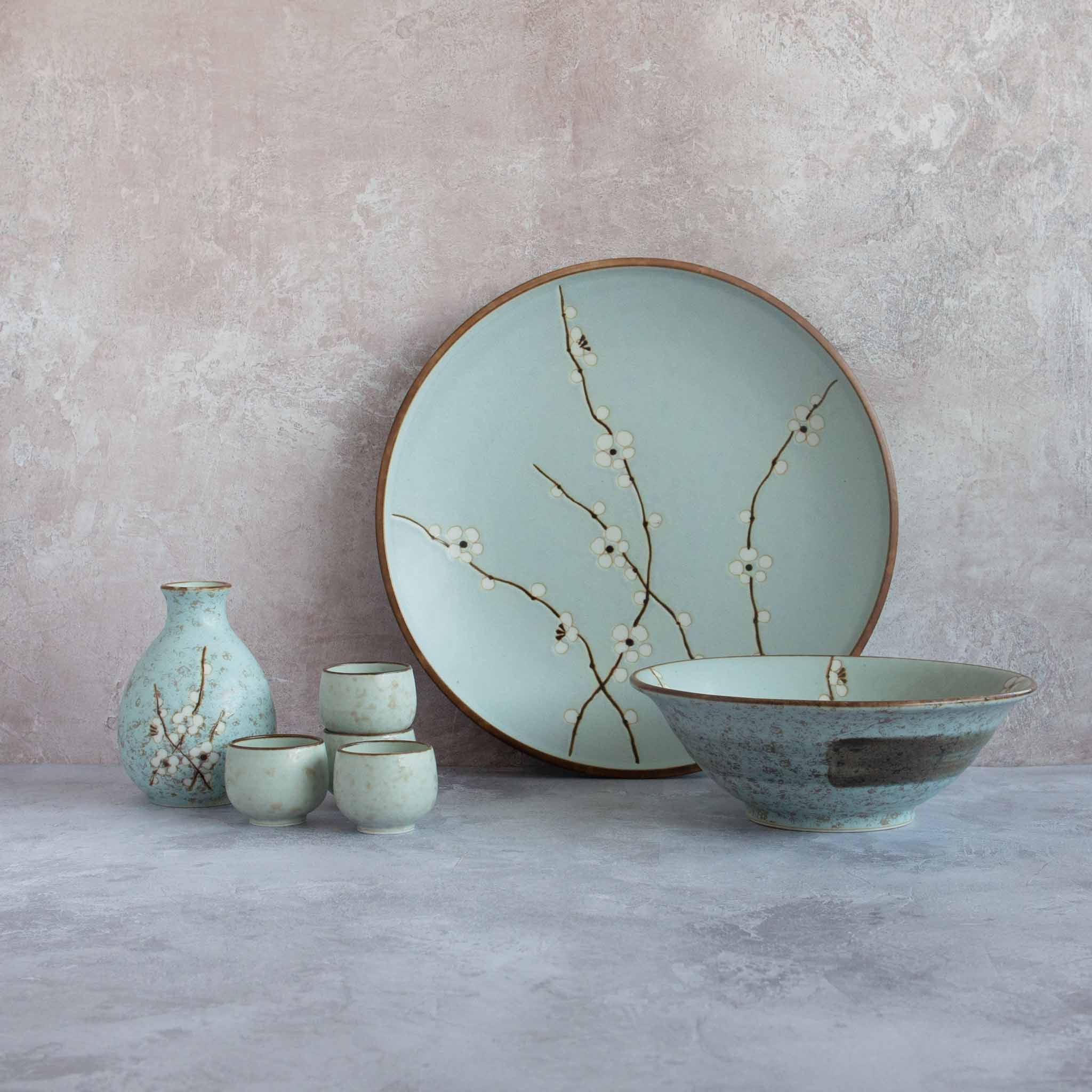 Kiji Stoneware & Ceramics Sakura Rice Bowl Tableware Japanese Tableware