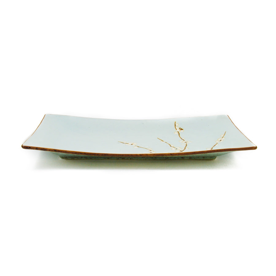 Kiji Stoneware & Ceramics Sakura Serving Platter Tableware Japanese Tableware