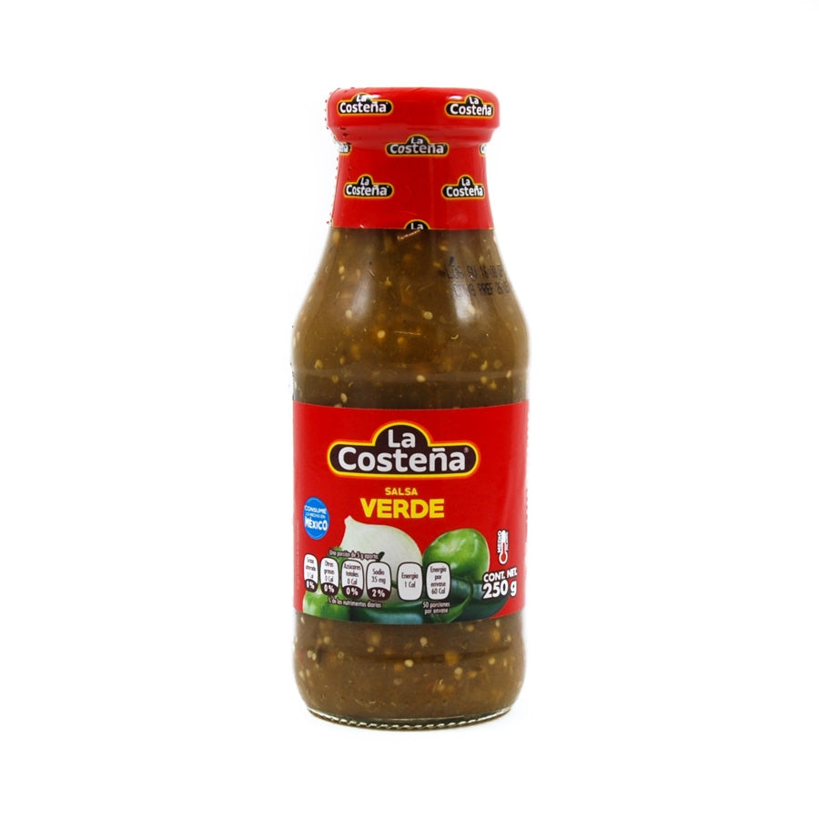 La Costena Green Mexican Salsa 250g Ingredients Sauces & Condiments American Sauces & Condiments Mexican Food