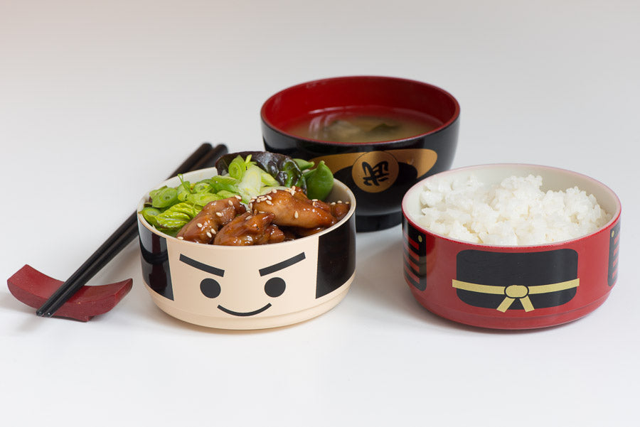 Hakoya Samurai Bento Box 640ml Cookware Japanese Food