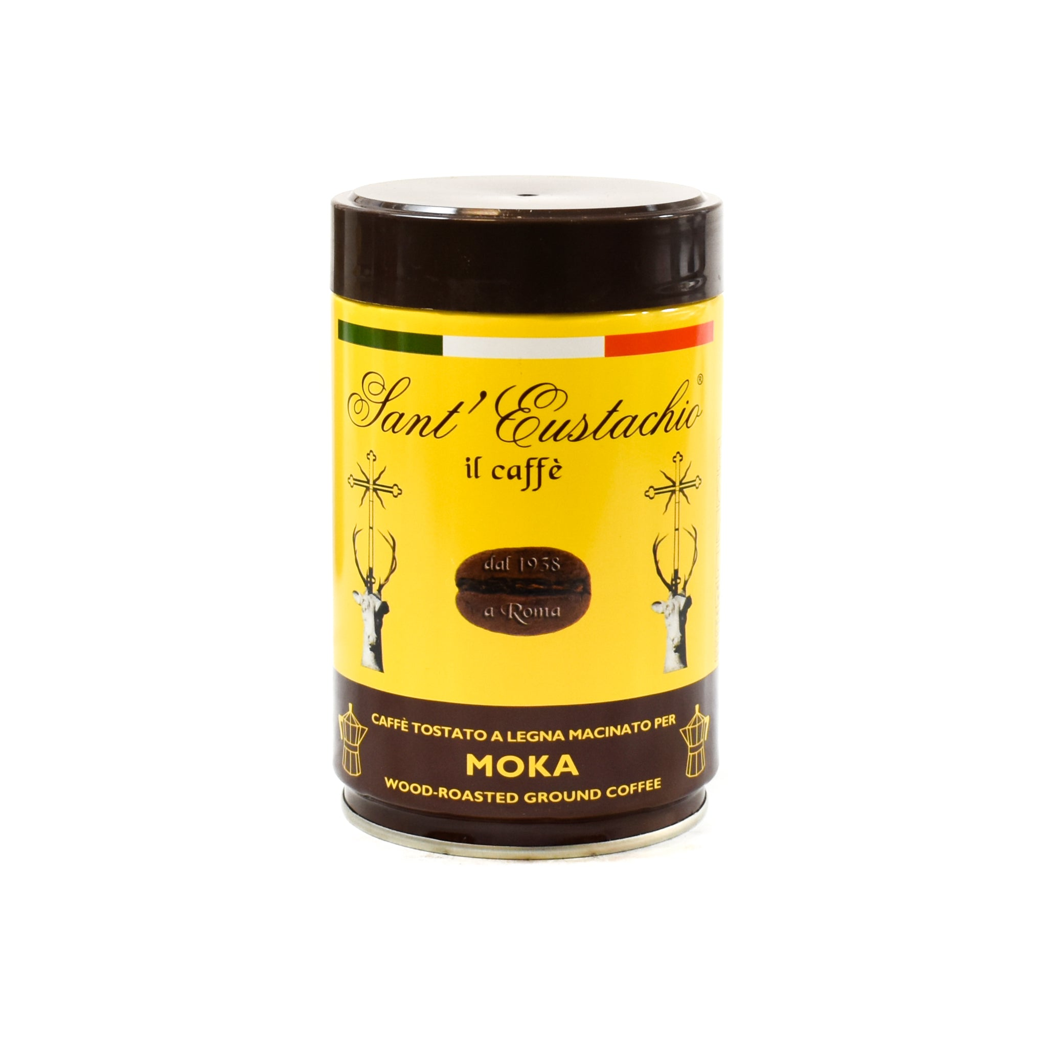 Sant 'Eustachio il caffe Sant'Eustachio Moka Ground Coffee 250g Ingredients Drinks Tea & Coffee Italian Food