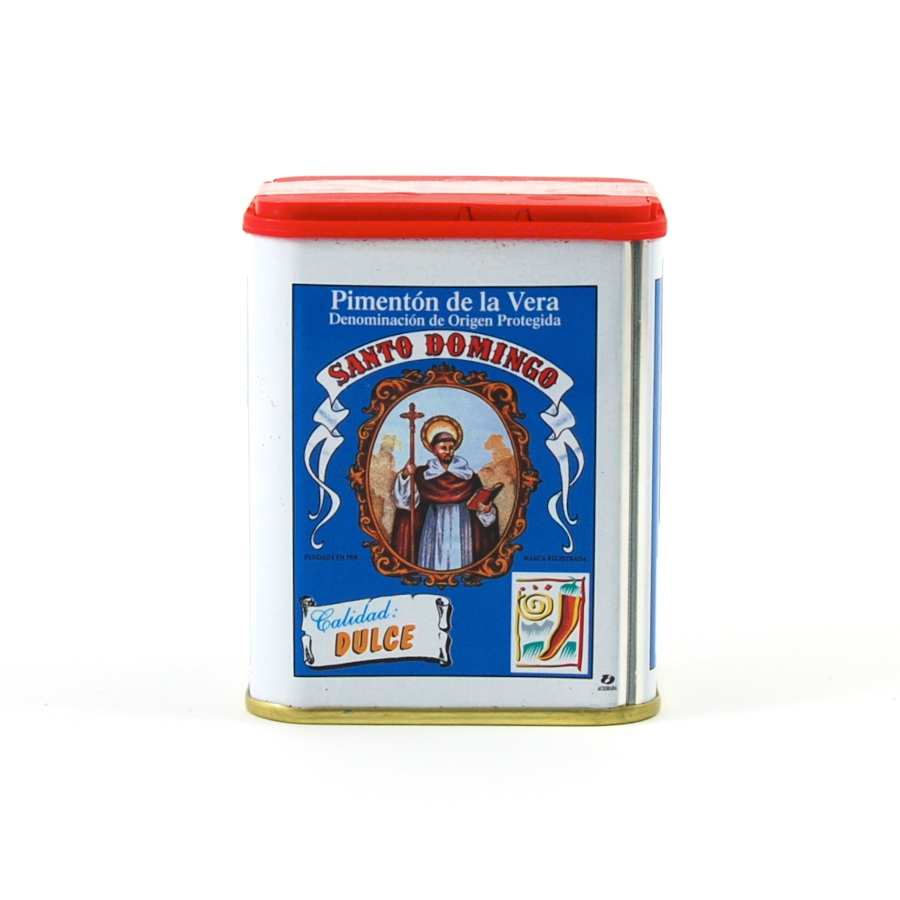 Santa Domingo Sweet Smoked Paprika 75g Ingredients Seasonings Spanish Food