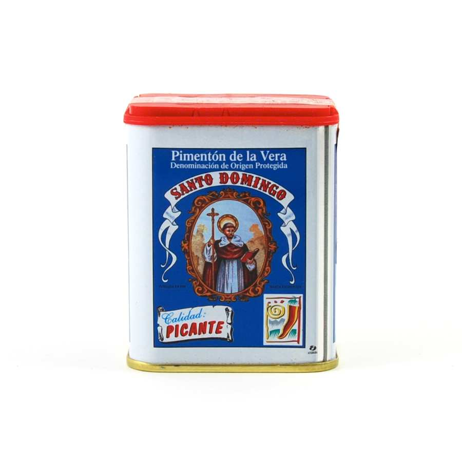 Santa Domingo Hot Smoked Paprika 75g Ingredients Seasonings Spanish Food