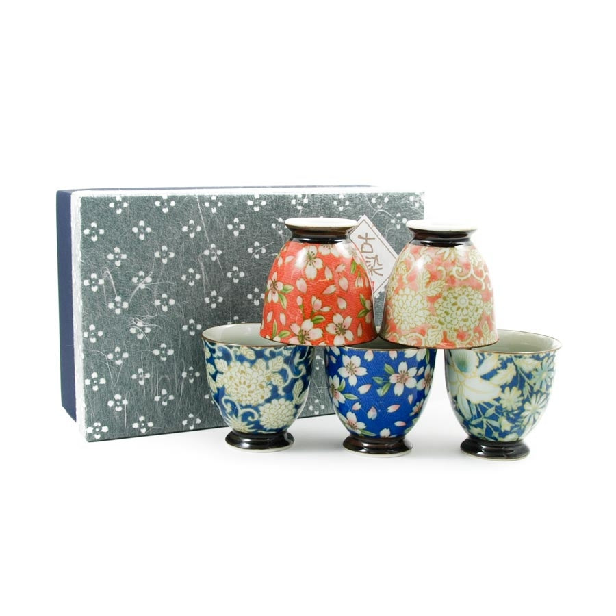 Sarasa Japanese Teacup Set