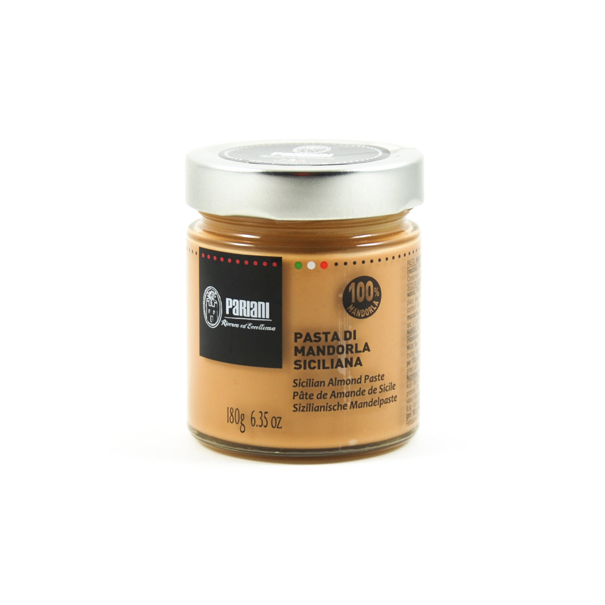 Pariani Sicilian Almond Paste 180g Ingredients Baking Ingredients Baking Nuts & Nut Pastes Italian Food