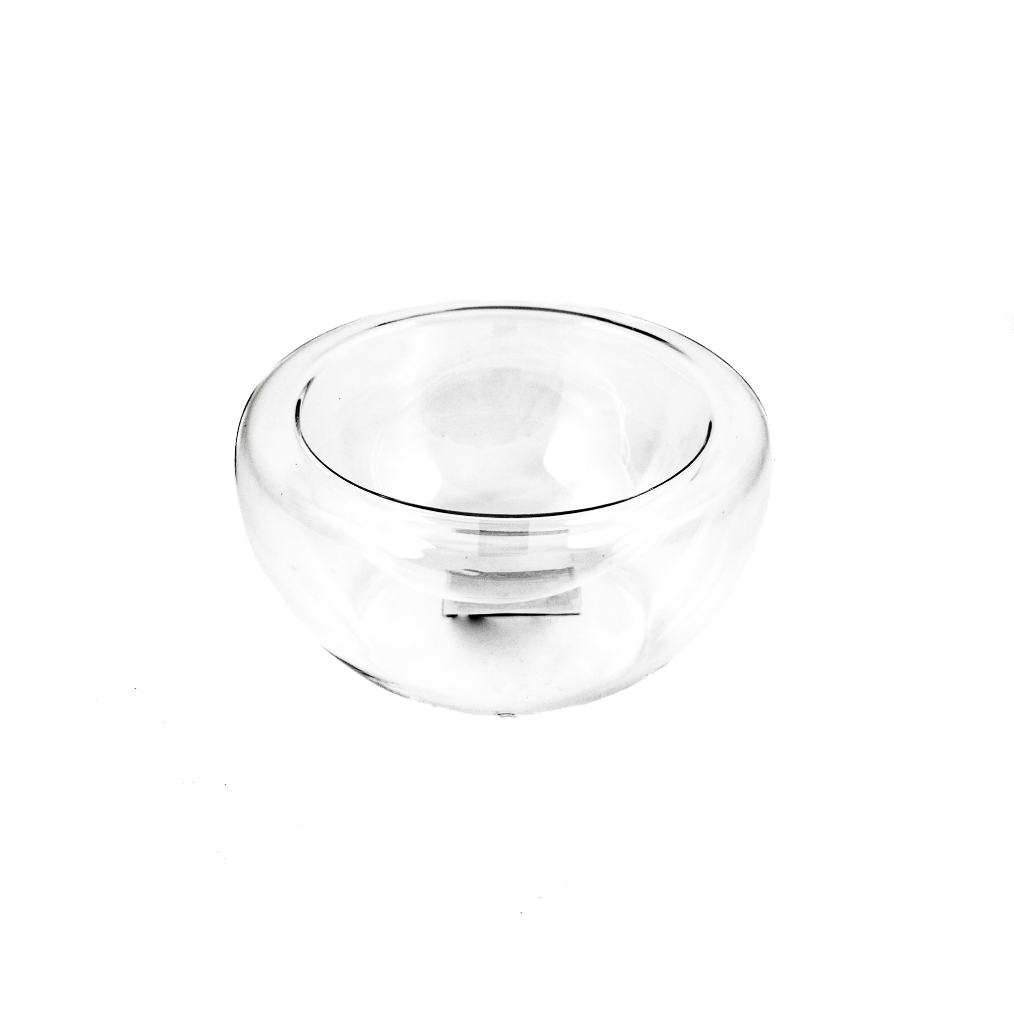 Portuguese Tableware Small Double Wall Glass Bowl x 6 120ml Tableware Jugs & Glassware