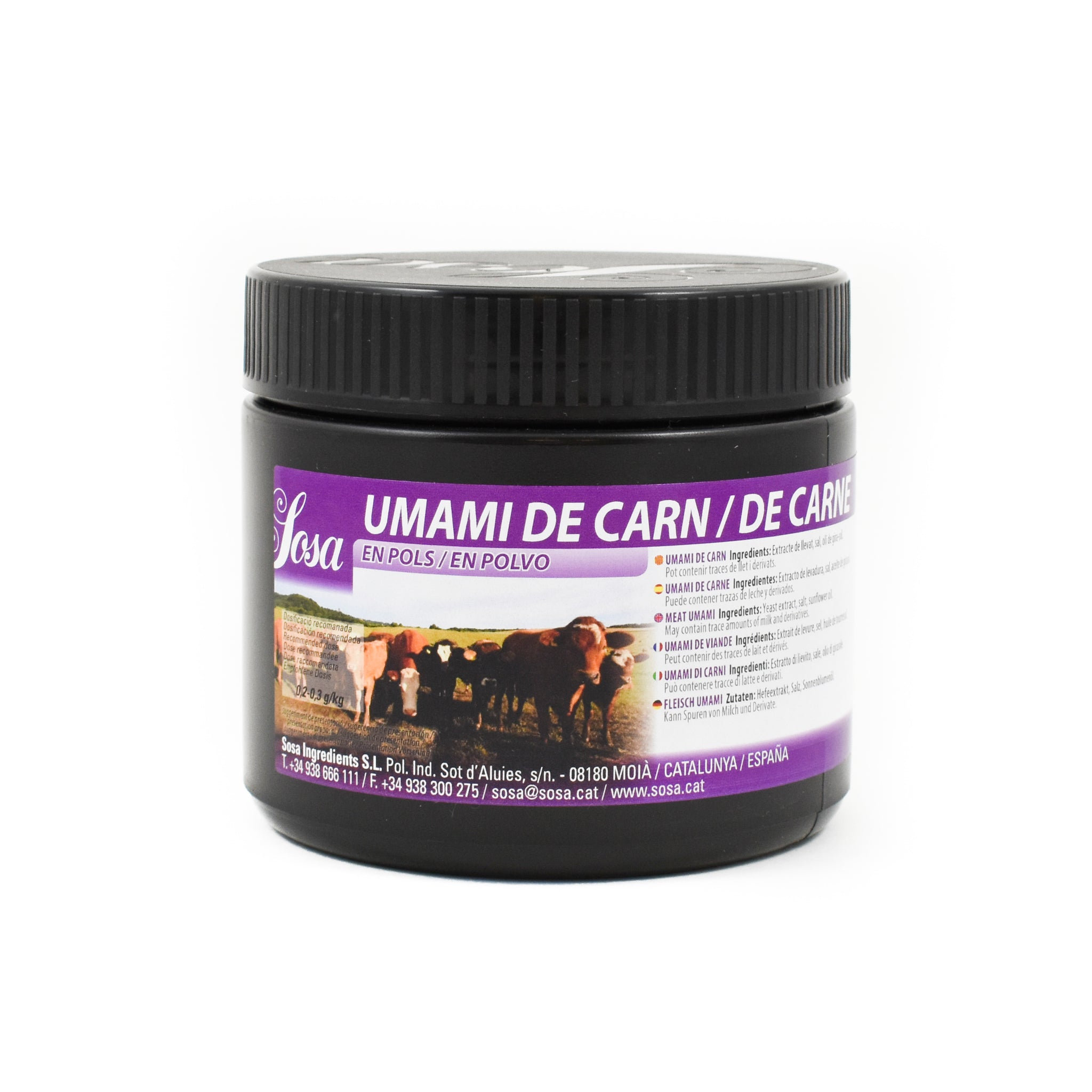 Sosa Meat Umami Powder 200g Ingredients Modernist & Molecular