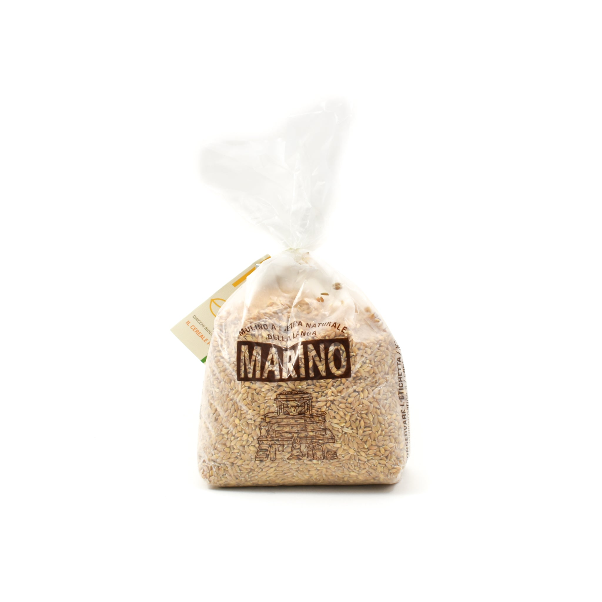 Mulino Marino Organic Enkir (Einkorn) Spelt Grain 1kg Ingredients Flour Grains & Seeds Italian Food