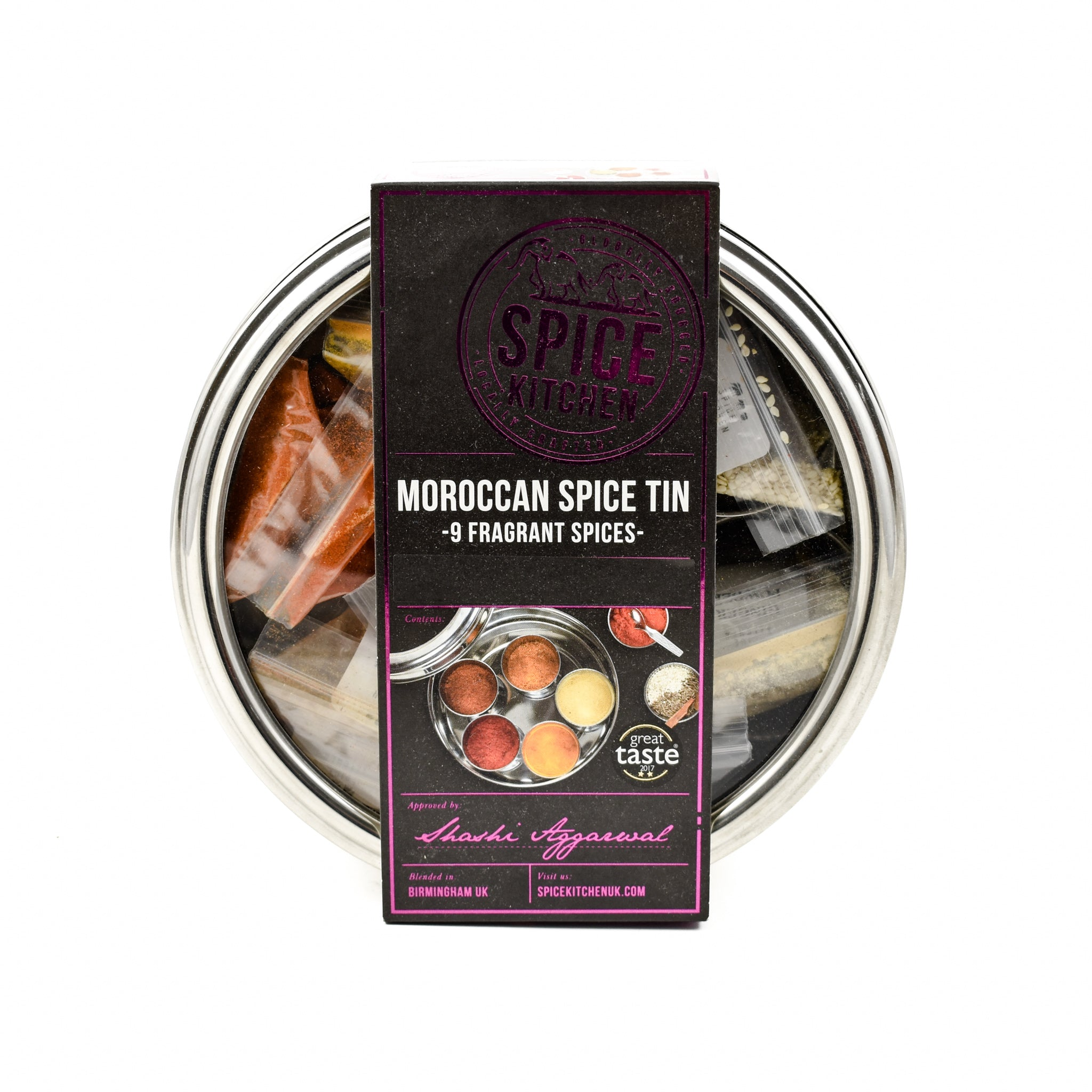 Spice Kitchen Moroccan Spice Tin Ingredients Seasonings