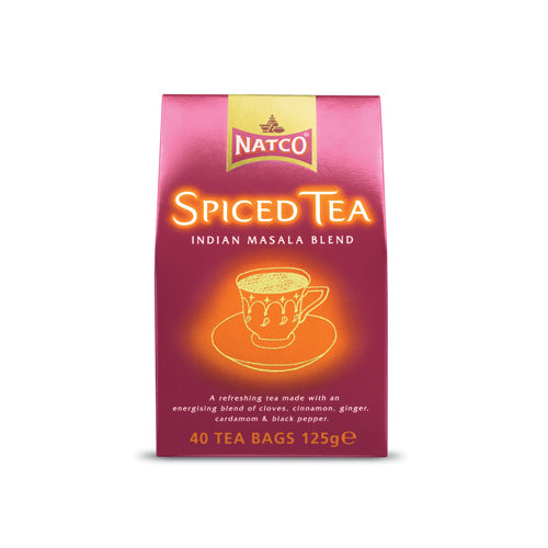 Natco Spiced Tea 40 sachets Ingredients Drinks Tea & Coffee Indian Food