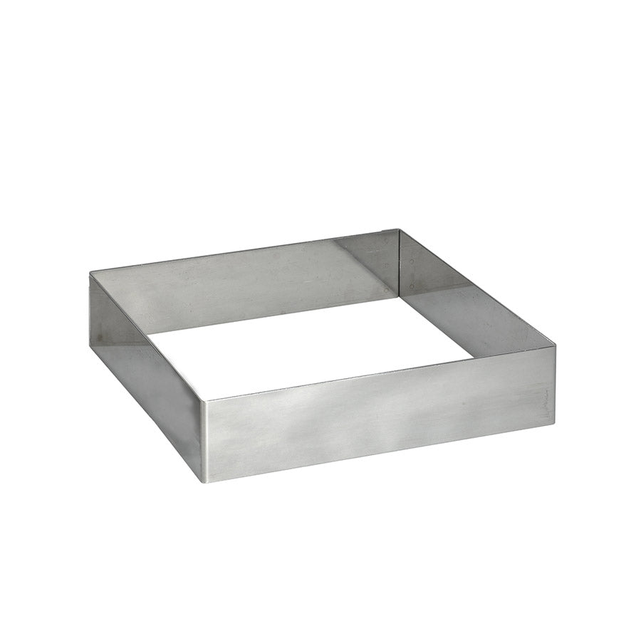 De Buyer Stainless Steel Square Pastry Ring 20cm