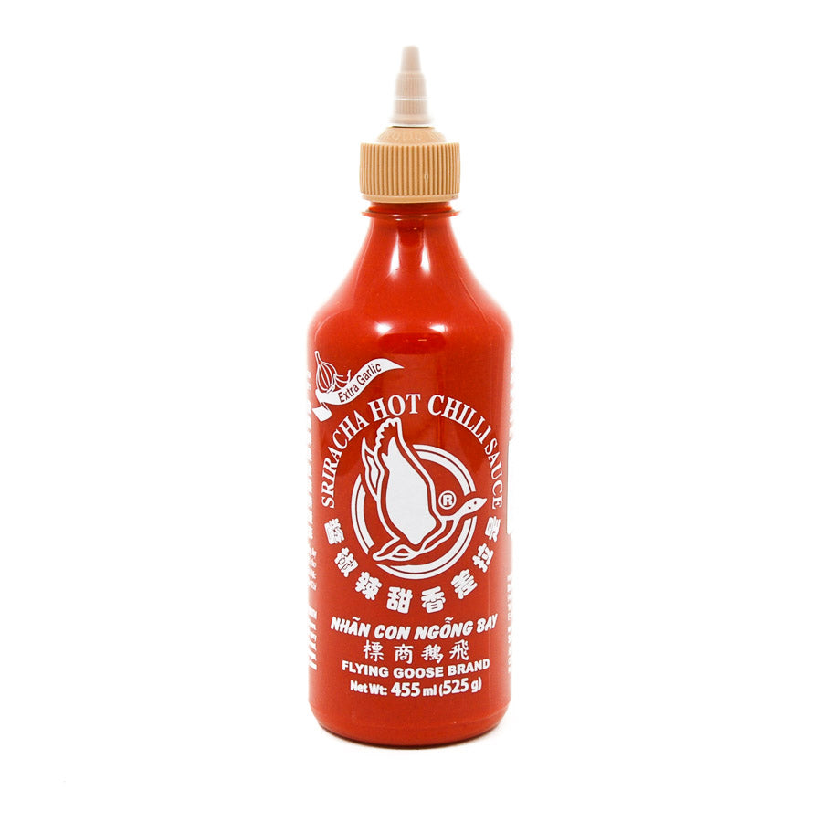 Flying Goose Sriracha - Extra Garlic 455ml Ingredients Sauces & Condiments Asian Sauces & Condiments Southeast Asian Food