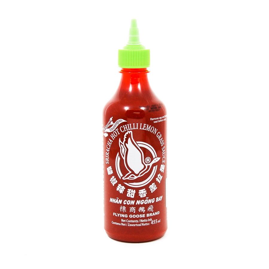 Flying Goose Sriracha - Lemongrass 455ml Ingredients Sauces & Condiments Asian Sauces & Condiments Southeast Asian Food